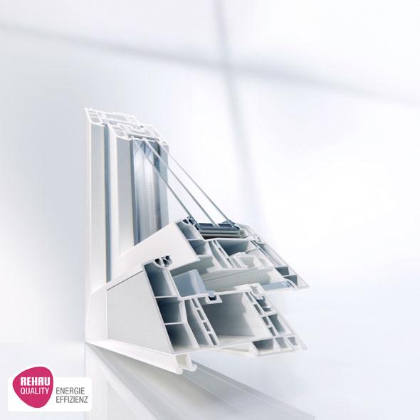Пластиковые окна - ПВХ профиль REHAU Geneo